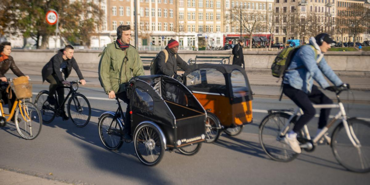 Cargo bikes in private use